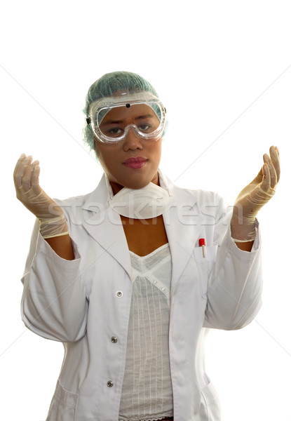 Ethnic doctor healthcare work Stock photo © lovleah