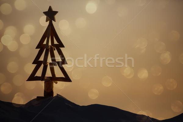 Australiano Navidad playa caliente día de verano casual Foto stock © lovleah