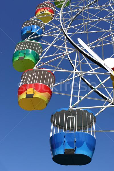 Amusement Park Ferris Wheel Stock photo © lovleah