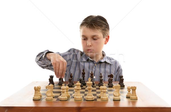 Chess setup Stock photo © lovleah