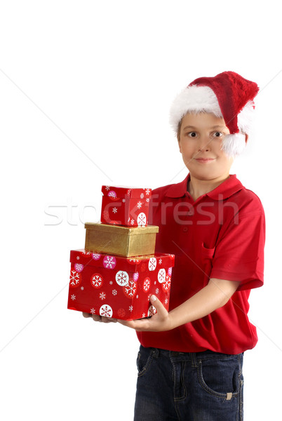 Spirit of Giving at Christmas Stock photo © lovleah