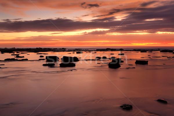 Feuer Wasser Breve wenig Minuten sunrise Stock foto © lovleah