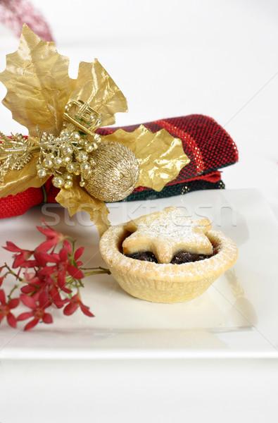 Christmas Fruit Pies Stock photo © lovleah