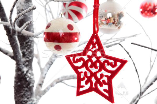 Christmas decorations Stock photo © lovleah