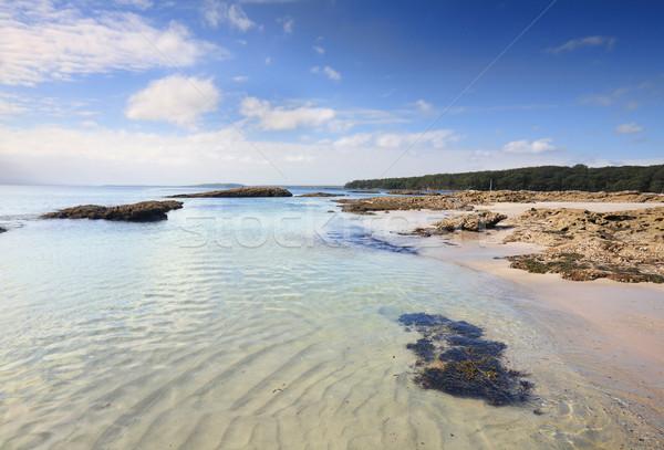Felsen Australien schönen Inseln Hochwasser Meer Stock foto © lovleah