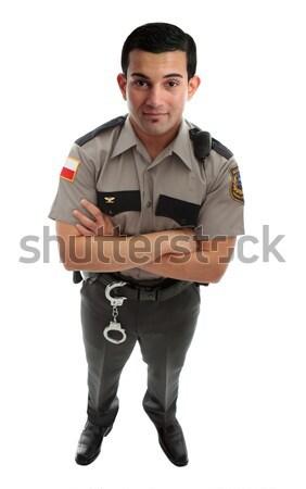 Prison Guard Warden or Policeman Stock photo © lovleah