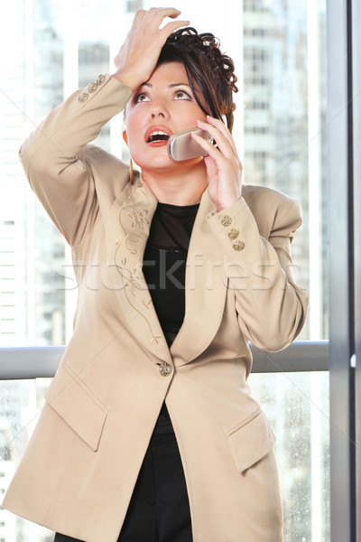 Business woman mistake forget Stock photo © lovleah