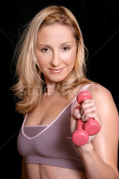 Body Sculpt fitness workout Stock photo © lovleah