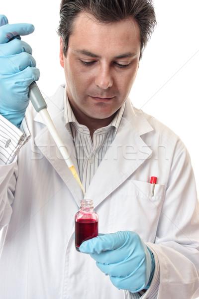 Kliniczny medycznych farmaceutyczny badań naukowiec lekarza Zdjęcia stock © lovleah