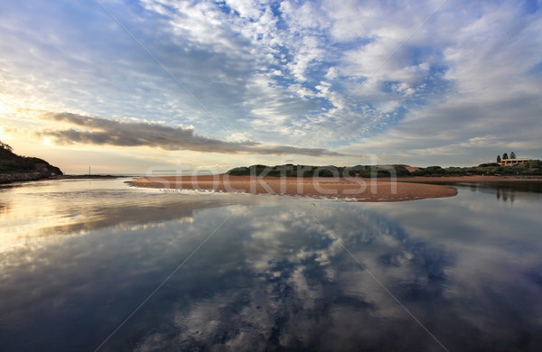 Narrabeen Reflections Stock photo © lovleah