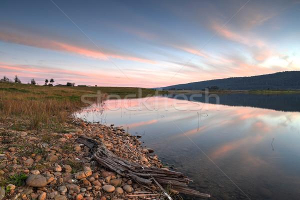 Booroobegongal Lake Penrith Stock photo © lovleah