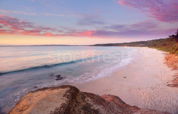 Sunrise at Nelson Beach Jervis Bay Stock photo © lovleah