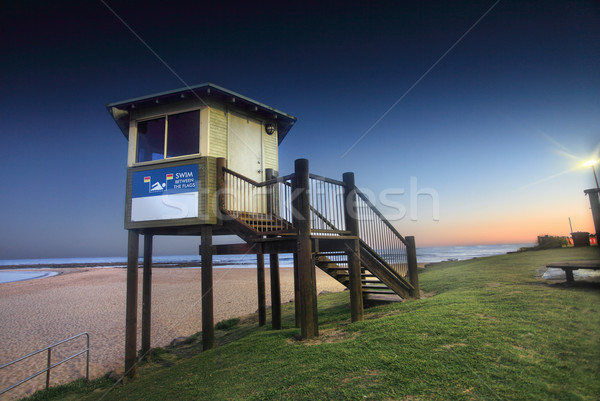 Life Guard Lookout at Toowoon Bay Stock photo © lovleah