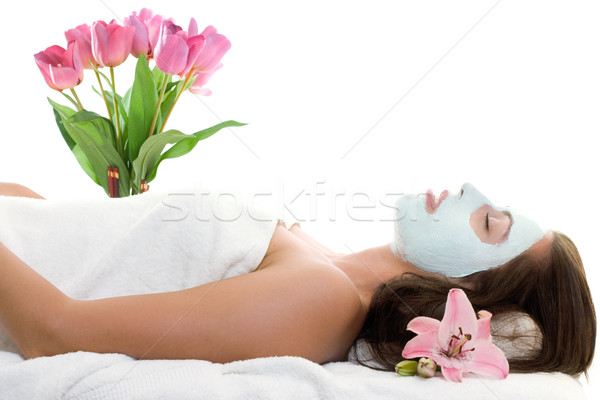 Stock photo: Beautifying Treatment