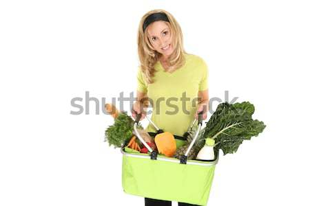 Eco friendly shopper Stock photo © lovleah