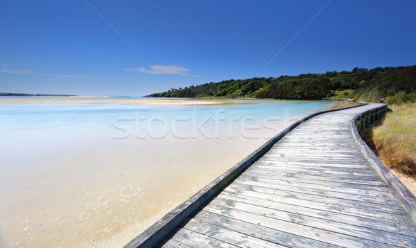 Boardwalk at Wallaga Stock photo © lovleah