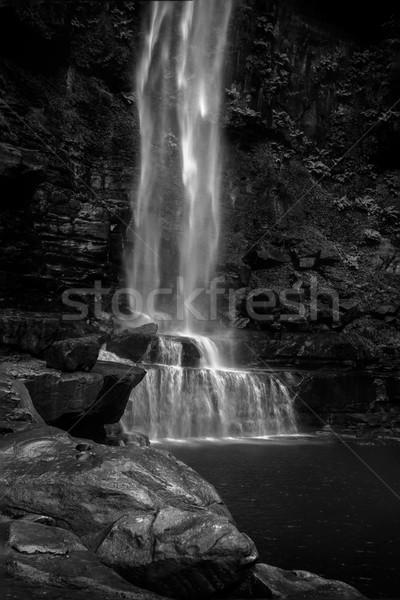 滝 長い ドロップ 最初 プール 2 ストックフォト © lovleah