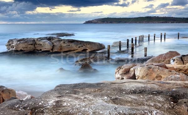 Mahon ocean rock pool Maroubra Australia Stock photo © lovleah