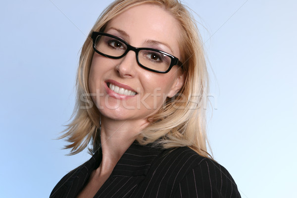 Smiling Businesswoman Stock photo © lovleah
