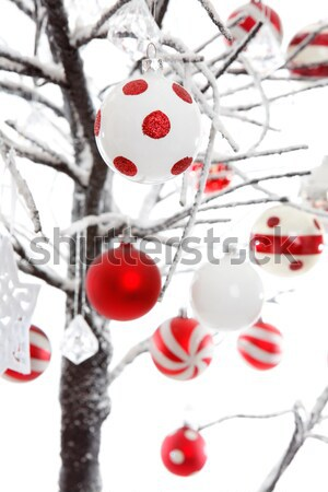 Christmas Decorations on a tree Stock photo © lovleah