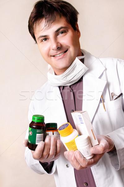 Medicines vitamins and supplements Stock photo © lovleah