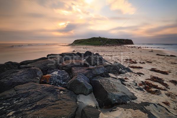 Windang Island near Wollongong Stock photo © lovleah