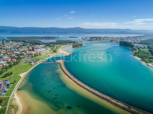 Spectacular Lake Illawarra Australia Stock photo © lovleah