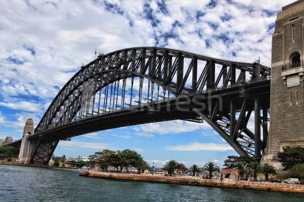 Sydney port pont point nord Photo stock © lovleah