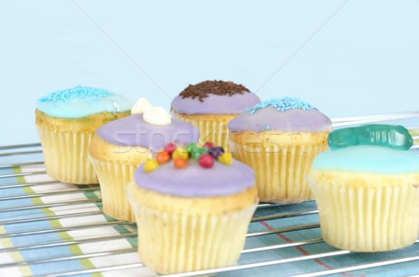 Iced Little Cakes Stock photo © lovleah