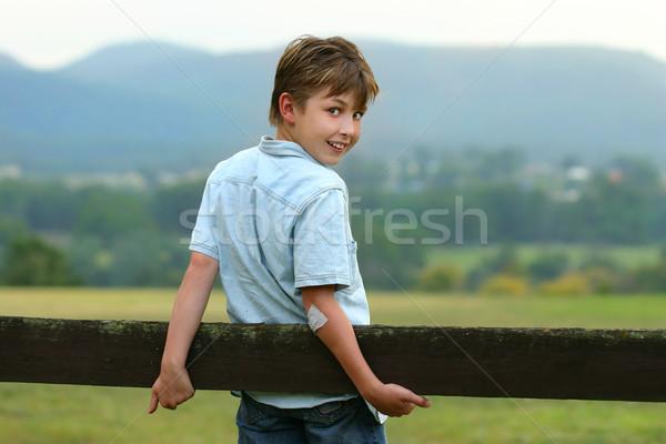 Down on the farm Stock photo © lovleah
