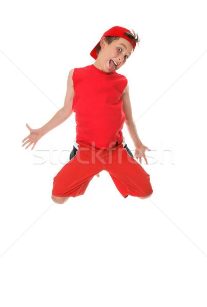 Leaping Larrikin Stock photo © lovleah