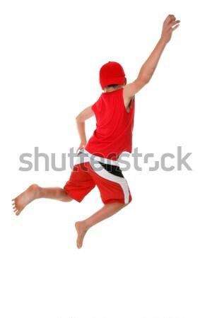 Jump for Joy Stock photo © lovleah