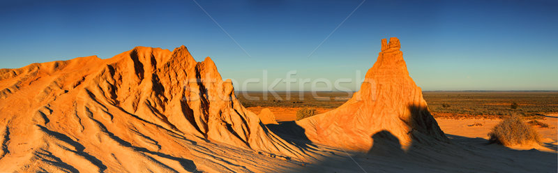 Desert Landscape outback Australia Stock photo © lovleah