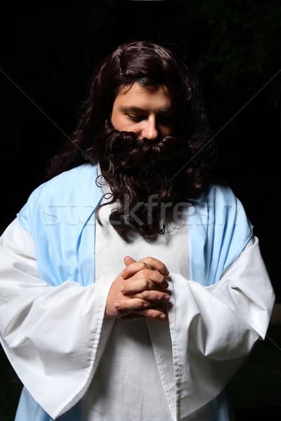Praying man Stock photo © lovleah