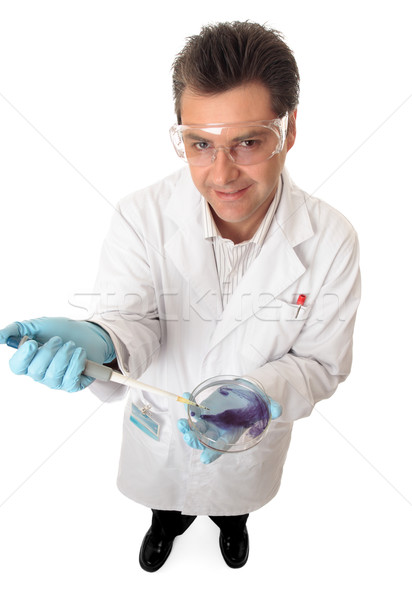 Scientific or medical researcher Stock photo © lovleah