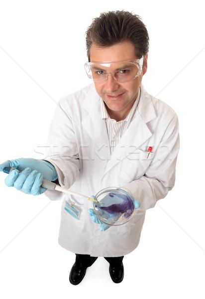 Científico médico investigador outro trabalhador Foto stock © lovleah