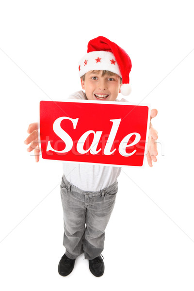 Christmas Sale Time Stock photo © lovleah