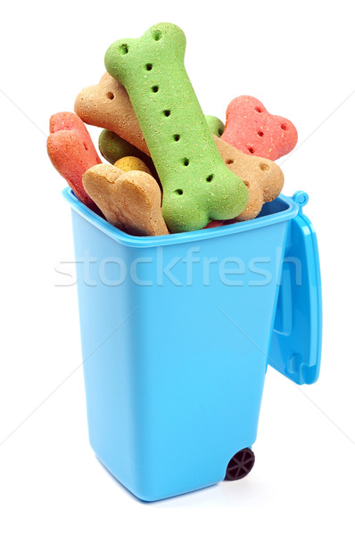 bin full of dog treats  Stock photo © luapvision