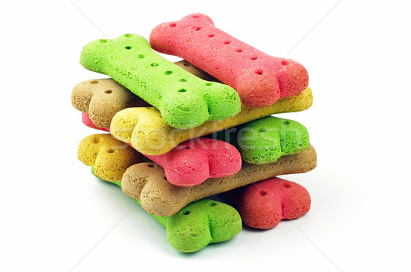 stack of dog biscuits  Stock photo © luapvision