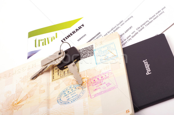 travel documents  Stock photo © luapvision