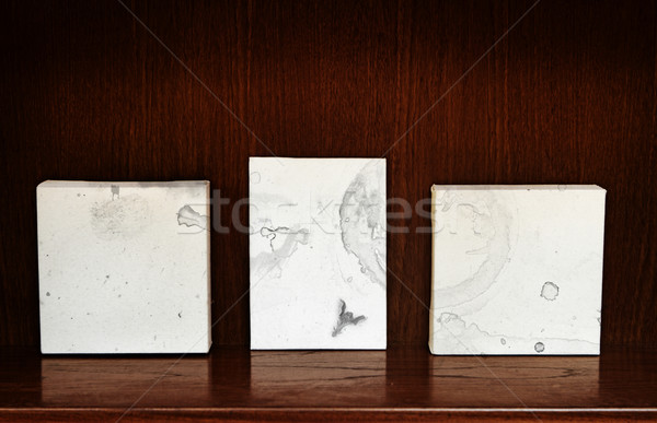 canvases on a shelf Stock photo © lubavnel