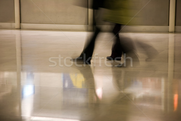 airport scene Stock photo © lubavnel