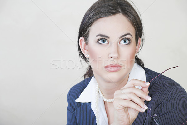 Successful business woman. Stock photo © lubavnel