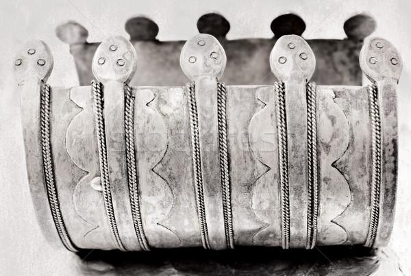 турецкий племенных браслет 100 лет старые Сток-фото © lubavnel