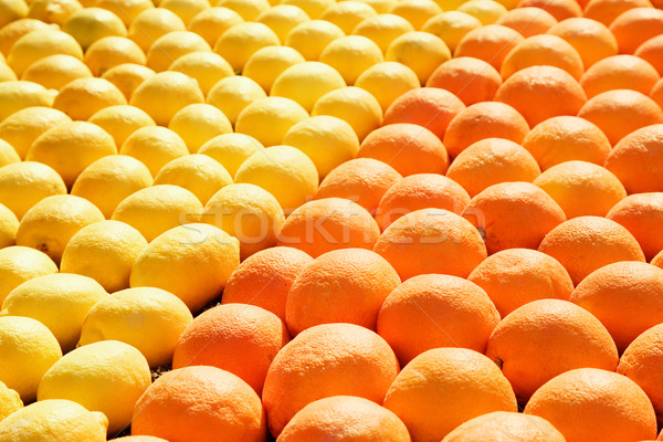 lemons and oranges Stock photo © lubavnel