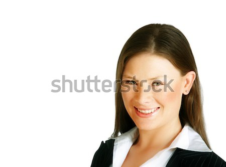 Young businesswoman Stock photo © lubavnel