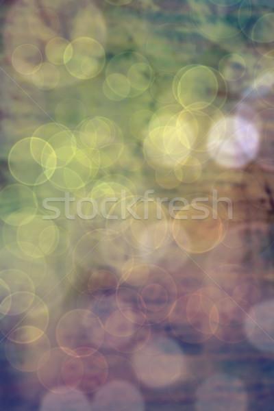 vintage blurred lights Stock photo © lubavnel