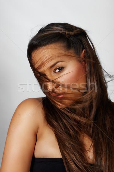 beautiful young woman  Stock photo © lubavnel