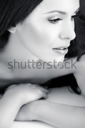 vintage woman. Stock photo © lubavnel
