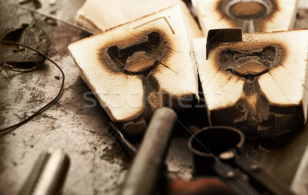 Molds for jewelry. Stock photo © lubavnel
